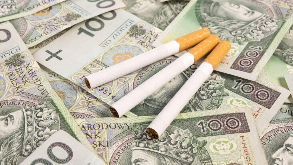 oszczędzać na paleniu